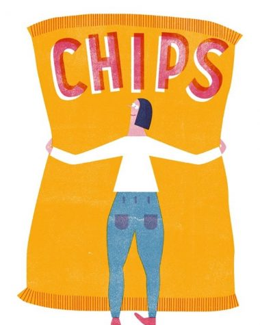 patate senza glutine chips