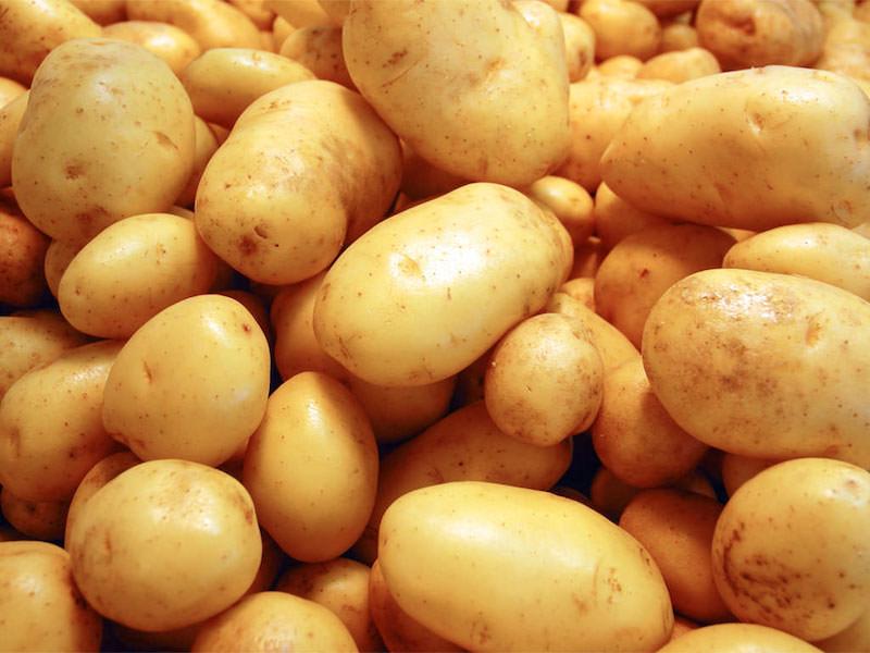 patate senza glutine gialle