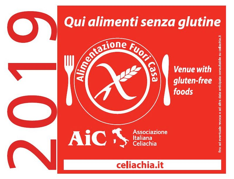 AIC Associazione Italiana Celiachia alimentazione fuori casa