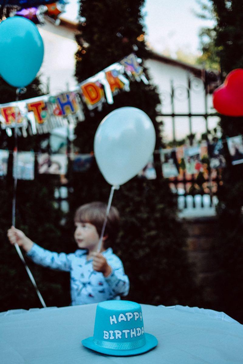 bambino celiaco compleanno