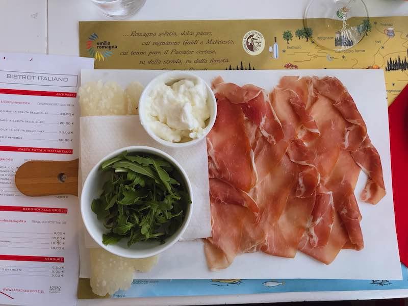 senza glutine a Rimini piadina