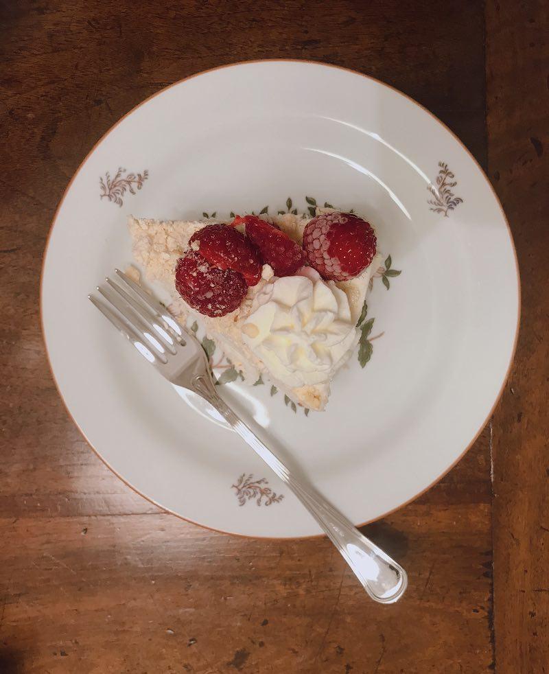 torta di meringa senza glutine