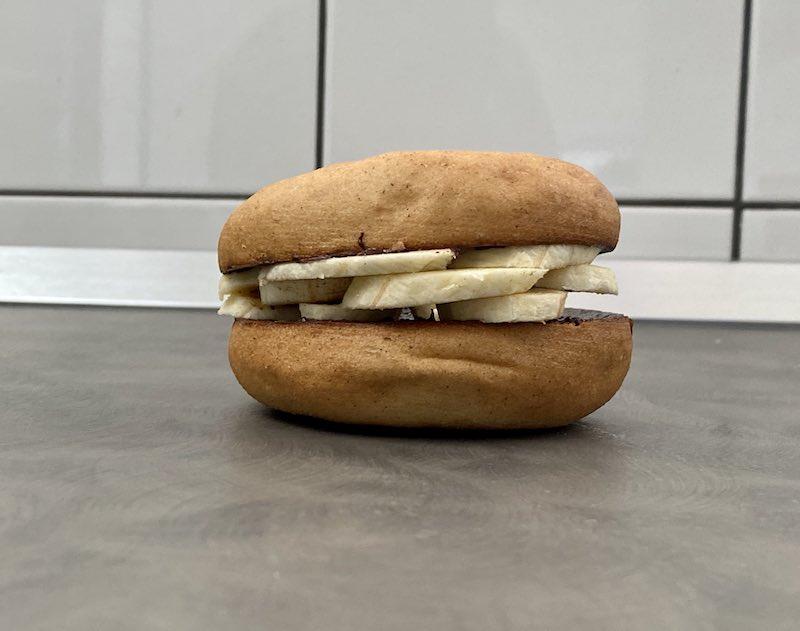 gluten free bagel banana e cannella