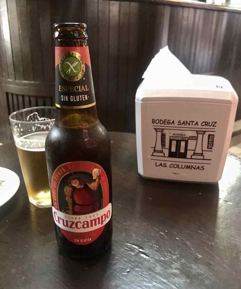 Siviglia senza glutine birra cruzcampo