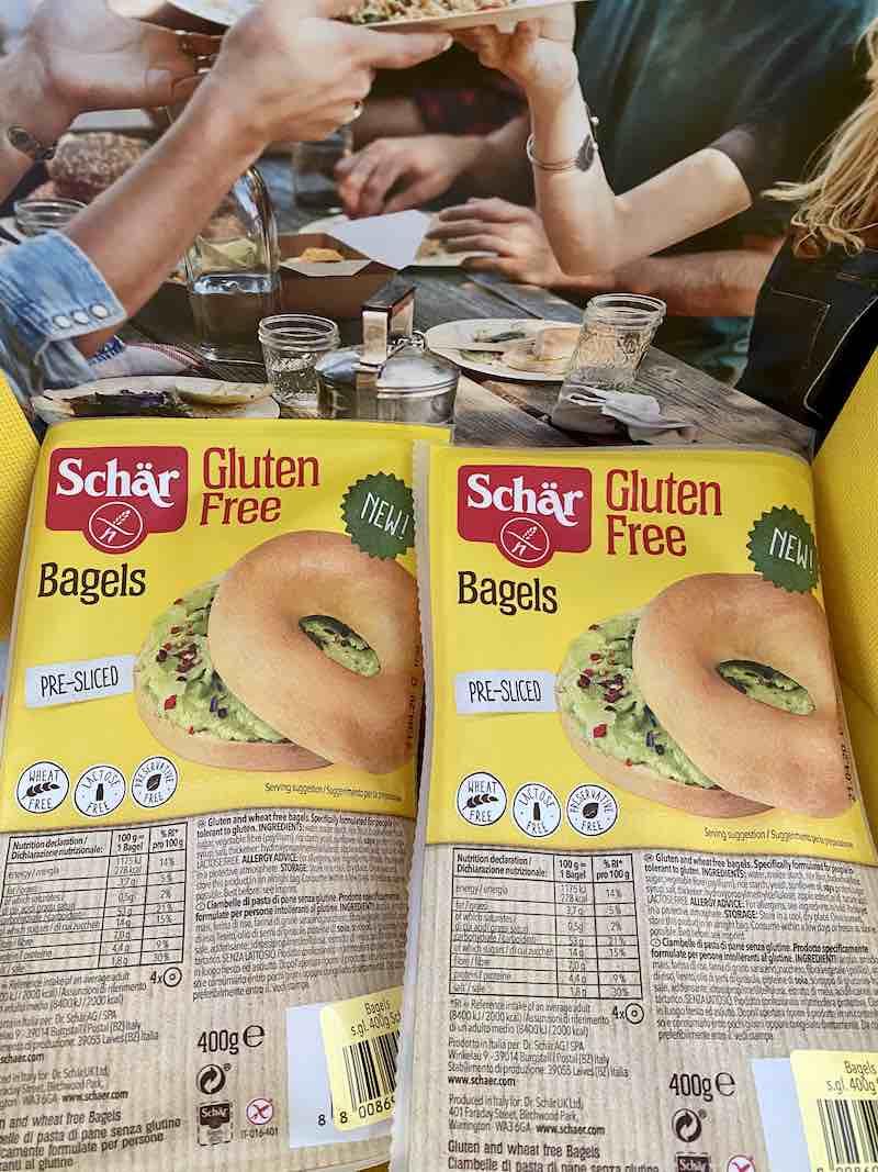 gluten free bagel schar
