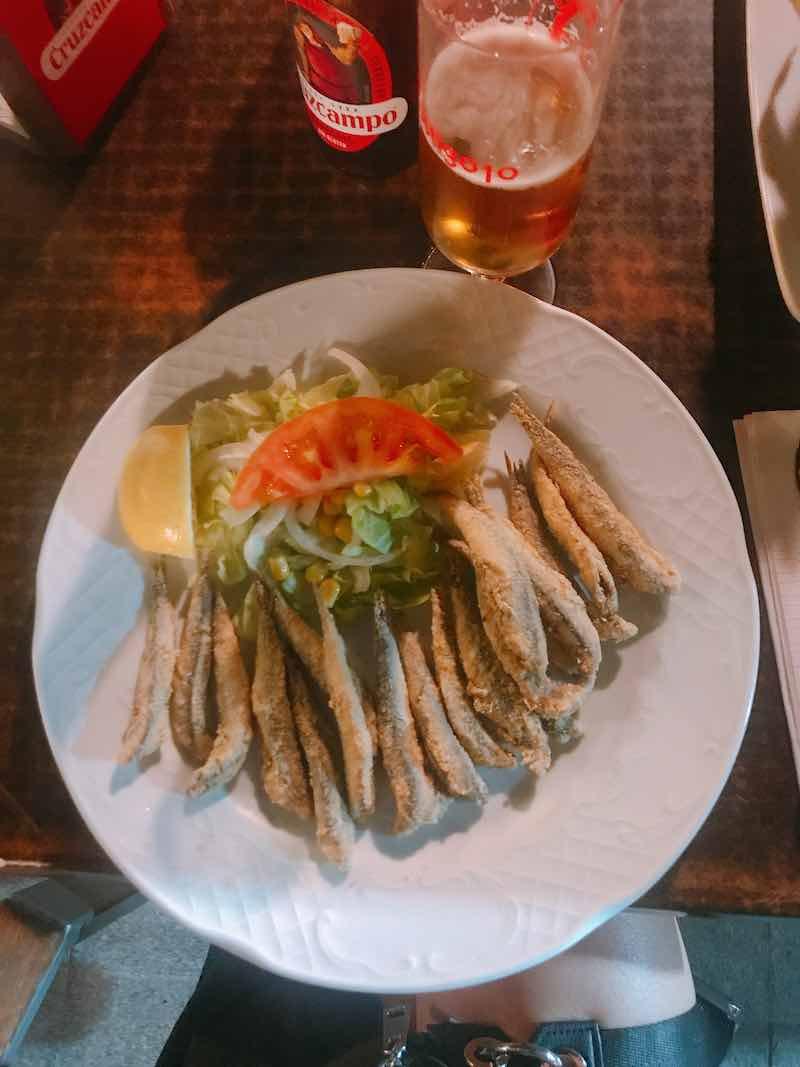 Siviglia senza glutine sardine