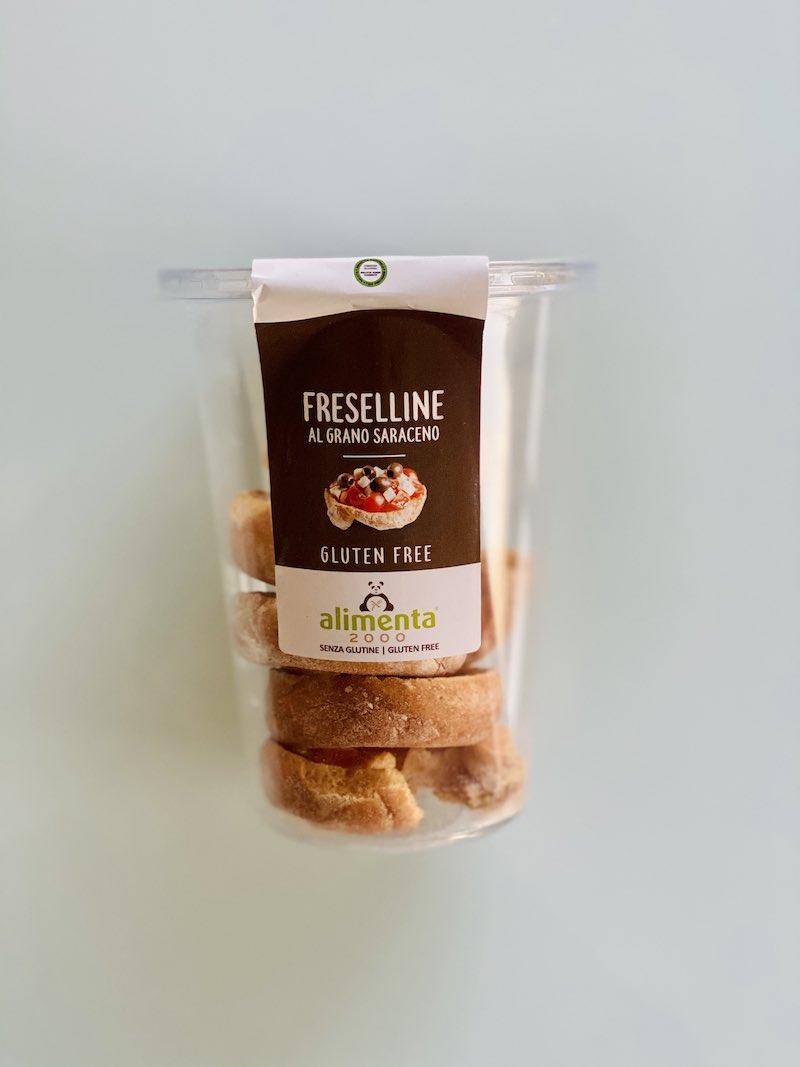 freselle senza glutine al grano saraceno