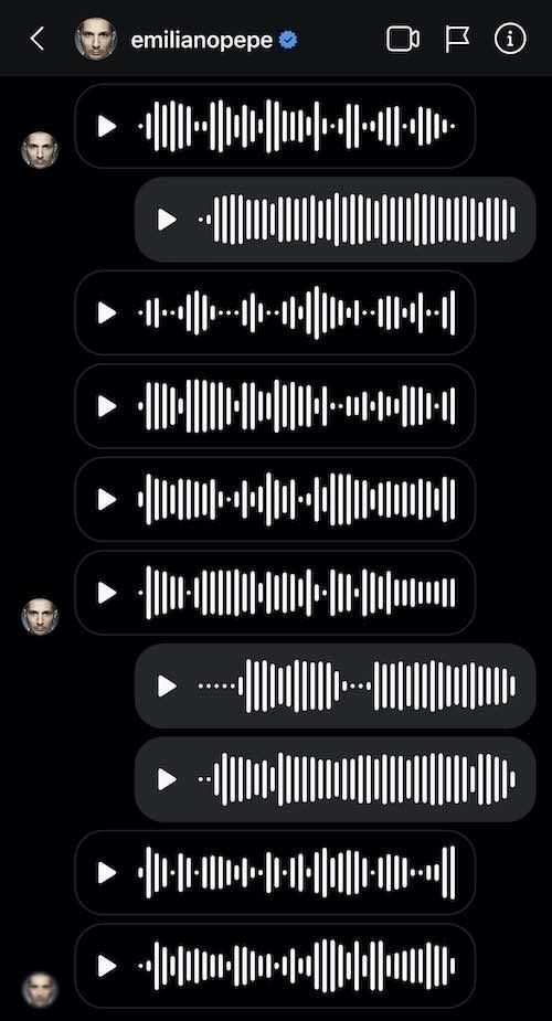 emiliano pepe vocali