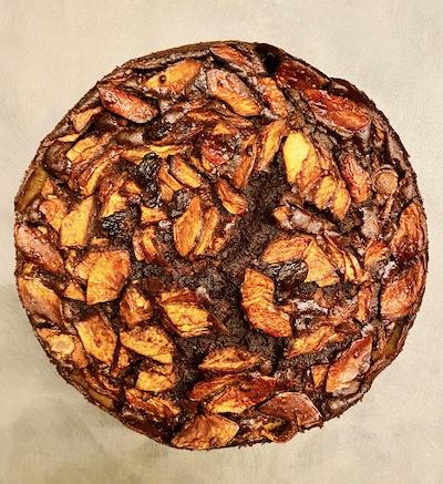 torta di castagne senza gutine