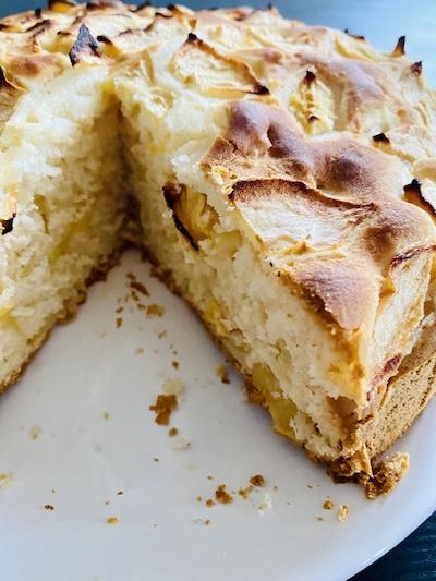torta di mele senza glutine lattosio