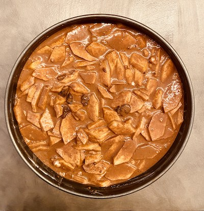 torta di castagne senza glutine prima