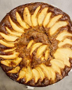torta castagna e mela senza glutine