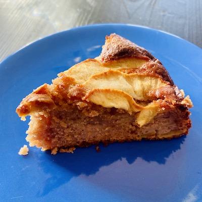 torta castagne e mele senza glutine